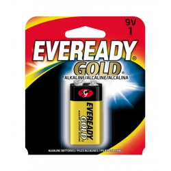 Bateria Alcalina 9V 1 Gold Eveready