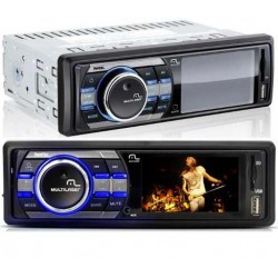 Som Automotivo Rock P3180 LCD MP3 USB SD AUX Multilaser